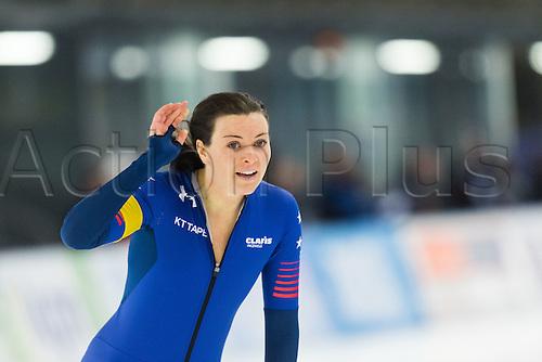 January 29th 2017, Sportforum, Berlin, Germany; ISU Speed Skating World Cup;  ISU Speed Skating World Cup 1000m division A;  Marrit Leenstra (NED)