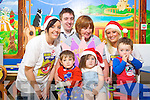 Pictured at the launch of a fundraiser to bring sick children to Lapland next December at Kerry General Hospital on Friday were Front: Bradley O'Brien, Tamikia O'Brien, Conor Lyne. Back from Left Sinead Prendergast, Andrew McKenzie Vass, Angela Hickey (Ward manager) and Ursula O'Keeffe..