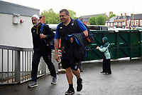 Todd Blackadder and Toby Booth and the rest of Bath Rugby arrive at Welford Road. Gallagher Premiership match, between Leicester Tigers and Bath Rugby on May 18, 2019 at Welford Road in Leicester, England. Photo by: Patrick Khachfe / Onside Images