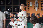 Norichika Aoki (Giants),<br /> MAY 7, 2015 - MLB : Norichika Aoki of the San Francisco Giants is seen during the Major League Baseball game against the Miami Marlins at AT&amp;T Park in San Francisco, California, United States.<br /> (Photo by Thomas Anderson/AFLO) (JAPANESE NEWSPAPER OUT)