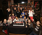 The young cast attend the 'School of Rock' Celebrates Two Years on Broadway at the Brazen Tavern in New York City.