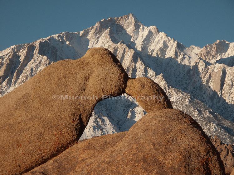 Owens Valley, Alabama Hills, Sierra Nevada Mountains