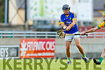 Mike Quilter Lixnaw in action against  Kilmoyley during the Senior Kerry County Hurling Semi Finals between Lixnaw v Kilmoyley at Austin Stack park on Saturday last.