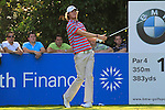 Chris Wood tees off on the 16th hole during Round 3 of the BMW PGA Championship at  Wentworth, Surrey, England, 22nd May 2010...Photo Golffile/Eoin Clarke.(Photo credit should read Eoin Clarke www.golffile.ie)....This Picture has been sent you under the condtions enclosed by:.Newsfile Ltd..The Studio,.Millmount Abbey,.Drogheda,.Co Meath..Ireland..Tel: +353(0)41-9871240.Fax: +353(0)41-9871260.GSM: +353(0)86-2500958.email: pictures@newsfile.ie.www.newsfile.ie.