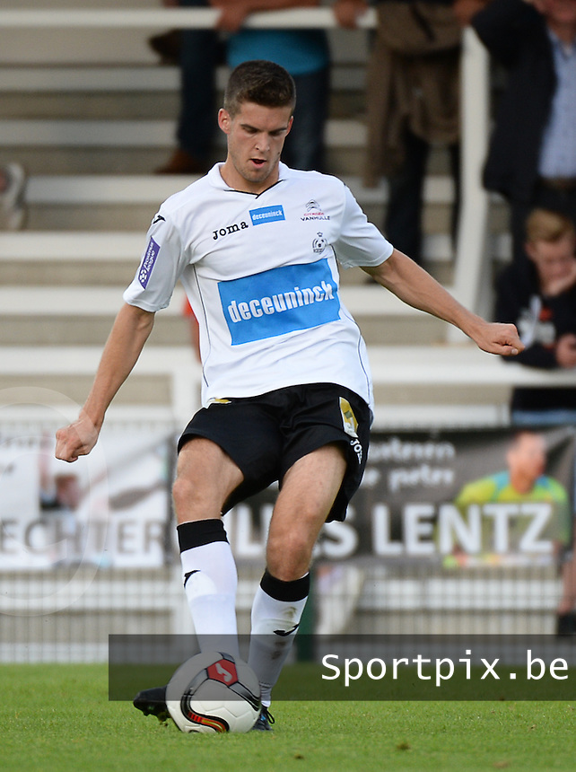 KSV Roeselare : Jeroen Vanthournout <br /> foto VDB / BART VANDENBROUCKE