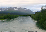 IMAGES OF THE YUKON,CANADA,  Kathleen River