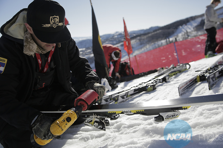 08 MAR 2014: During the NCAA Men's and Women's Division I Skiing Championship held at Park City Mountain Resort in Park City, UT. Erik Seo/ NCAA Photos