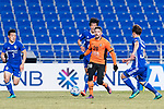 Brisbane Roar Forward Brandon Borrello (C) in action during the AFC Champions League 2017 Group E match between Ulsan Hyundai FC (KOR) vs Brisbane Roar (AUS) at the Ulsan Munsu Football Stadium on 28 February 2017 in Ulsan, South Korea. Photo by Victor Fraile / Power Sport Images