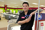 Pix: Shaun Flannery/shaunflanneryphotography.com...COPYRIGHT PICTURE>>SHAUN FLANNERY>01302-570814>>07778315553>>..4th February 2011..............Bensons for Beds, Centurion Way, Doncaster..Darts player Gary Anderson visits the store.