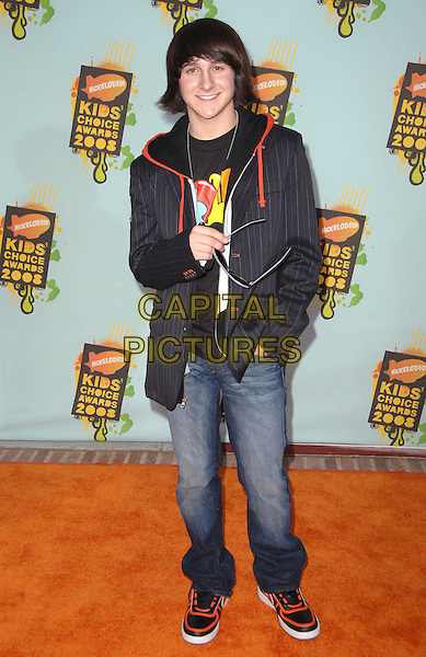 MITCHELL MUSSO .Attends The 2008 Kids Choice Awards held at Pauley Pavilion in Westwood, California, USA, March 29th 2008.                                                                     full length .CAP/DVS.©Debbie VanStory/Capital Pictures