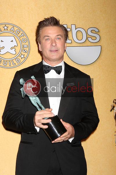 Alec Baldwin<br /> at the 18th Annual Screen Actors Guild Awards Pressroom, Shrine Auditorium, Los Angeles, CA 01-29-12<br /> David Edwards/DailyCeleb.com 818-249-4998