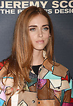 HOLLYWOOD, CA - SEPTEMBER 08: Blogger/designer Chiara Ferragni arrives at the Premiere Of The Vladar Company's 'Jeremy Scott: The People's Designer' at TCL Chinese 6 Theatres on September 8, 2015 in Hollywood, California.