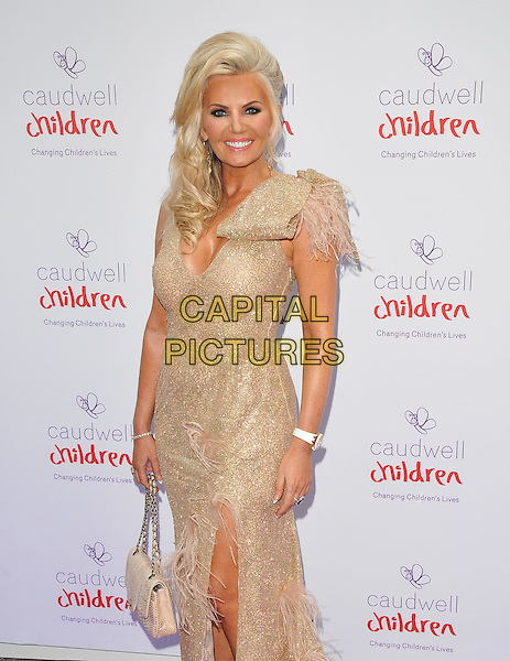 Claire Johnson at the Caudwell Children Butterfly Ball, Grosvenor House Hotel, Park Lane, London, England, UK, on Wednesday 22 June 2016.<br /> CAP/CAN<br /> &copy;CAN/Capital Pictures