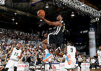 NBA player John Wall shoots at the South Florida All Star Classic held at FIU's U.S. Century Bank Arena, Miami, Florida. .