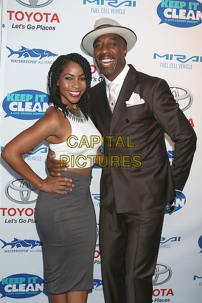 HOLLYWOOD, CA - APRIL 21: Shahidah Omar, J. B. Smoove at the Keep It Clean Comedy Benefit For Waterkeeper Alliance at Avalon on April 21, 2016 in Hollywood, California. <br /> CAP/MPI/DE<br /> &copy;DE/MPI/Capital Pictures