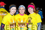 Jennifer Butler, Stephanie Dutler, Laura Cullinane Ballyvourney at Nathans Walk Darkness into Light walk on Saturday morning