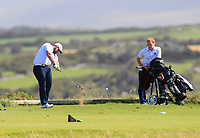 Jack Ryan (Castletroy) on the 7th tee during the Munster Final of the AIG Barton Shield at Tralee Golf Club, Tralee, Co Kerry. 12/08/2017<br /> Picture: Golffile | Thos Caffrey<br /> <br /> <br /> All photo usage must carry mandatory copyright credit     (&copy; Golffile | Thos Caffrey)