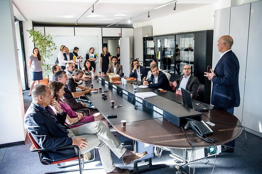 """""""Tous Entrepreneurs"""" - Tournée CCIMP - Etape La Ciotat : visite entreprise EUROS + visite commerces Centre Ville + Networking Hôtel BestWestern - 30 mai 2017 - La Ciotat"""