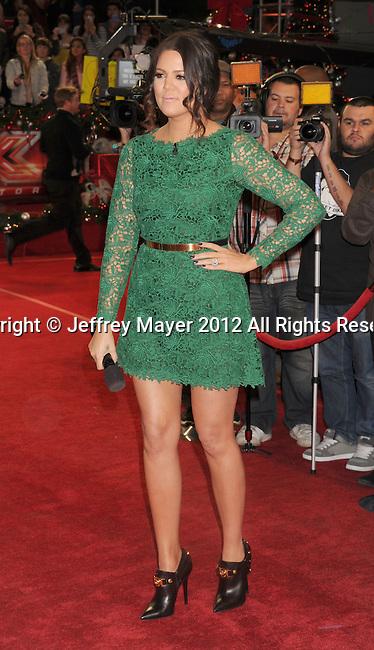 LOS ANGELES, CA - DECEMBER 20: Khloe Kardashian Odom attends the FOX's 'The X Factor' Season Finale - Night 2 at CBS Televison City on December 20, 2012 in Los Angeles, California.