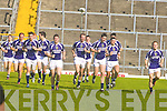 The Kerry Team during their last training session in Fitzgerald Stadium before the All Ireland Final.