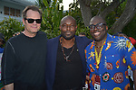 Jimmy Jean-Louis and Jack Coleman attend Miami Film Festival cocktail Hour