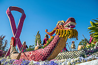 Rose Parade, Floats, Pasadena Ca, 2015