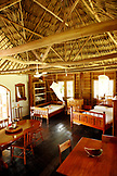 BELIZE, Punta Gorda, room interior at the Sun Creek Lodge