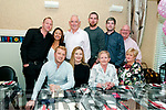 Liz Flavin Ballydonoghue second from right front celebrating her 60th birthday with family at Eabha Joan's Restaurant, Listowel on Saturday night last.