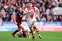 Picture by Alex Whitehead/SWpix.com - 30/03/2018 - Rugby League - Betfred Super League - St Helens v Wigan Warriors - Totally Wicked Stadium, St Helens, England - St Helens' Ryan Morgan.