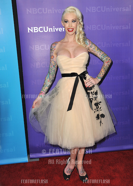 Sabina Kelly, star of Best Ink, at the NBC Universal Winter 2012 TCA party at The Athenaeum in Pasadena..January 6, 2012  Los Angeles, CA.Picture: Paul Smith / Featureflash