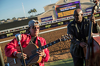 DEL MAR, CA - NOVEMBER 02: Richie Sambora warms up during soundcheck at Del Mar Thoroughbred Club on November 2, 2017 in Del Mar, California. (Photo by Ting Shen/Eclipse Sportswire/Breeders Cup)