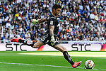 Eibar´s goalkeeper Xabier Iruretaguena during 2014-15 La Liga match between Real Madrid and Eibar at Santiago Bernabeu stadium in Madrid, Spain. April 11, 2015. (ALTERPHOTOS/Luis Fernandez)