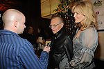 Larry King and wife, Shawn Southwick at the Rock the Cure event benefiting the Nevada Cancer Institute  inside Aria Resort and Casino, Las Vegas, NV, November 11, 2010 © Al Powers / Vegas Magazine