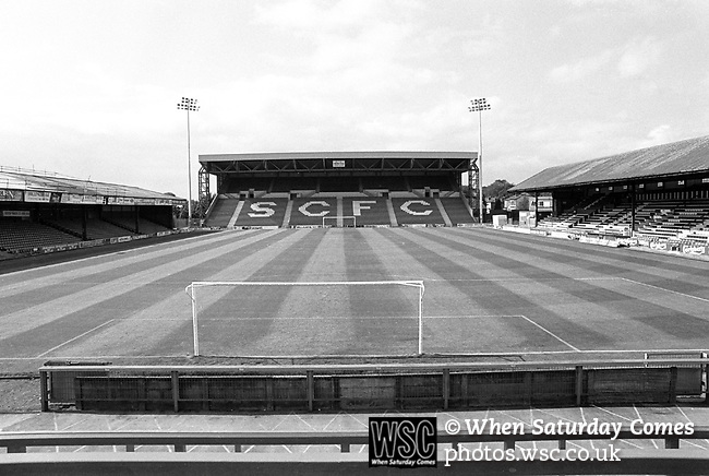 Edgeley Park home of Stockport County FC. Photo by Tony Davis