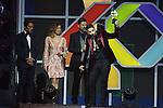 01.12.2016 Barcelona. Los 40 music awards 2016. Maluma premio mejor global show