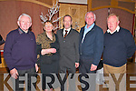 Angling Dinner : Attenddin the Ballybunion Angling Club Festival Celebration Dinner held at The Golf Hotel, Ballybunion on Saturady night last were  Sheamus & Mary Enright, Sean Kelly MEP, Mike Enright & Jim Halpin.