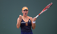ANGELIQUE KERBER (GER)<br /> <br /> <br /> Tennis - MIAMI OPEN 2015 - ATP 1000 - WTA Premier -  Crandon park Tennis Centre  - Miami - United States of America - 2015<br /> &copy; AMN IMAGES