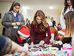 Queen Rania Visits Our Lady of Peace Center