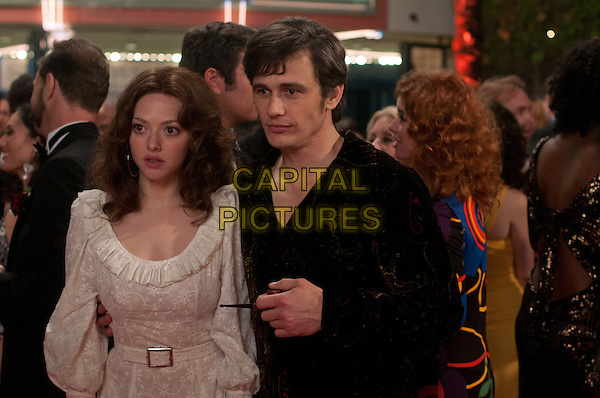 AMANDA SEYFRIED, JAMES FRANCO<br /> in Lovelace (2013) <br /> *Filmstill - Editorial Use Only*<br /> CAP/FB<br /> Image supplied by Capital Pictures