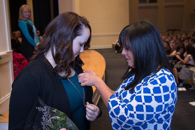 Holly Smoot Fall 2016 Midway Nursing Pinning Ceremony, Friday Dec. 16, 2016  in Midway, Ky. Photo by Mark Mahan