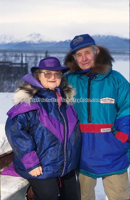 Joe & Violet Redington Knik Southcentral Ak Winter Portrait