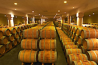 The winery, barrel aging cellar - Chateau Baron Pichon Longueville, Pauillac, Medoc, Bordeaux, Grand Cru