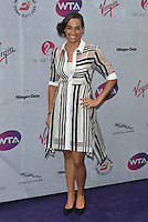 Caroline Garcia at WTA pre-Wimbledon Party at The Roof Gardens, Kensington on june 23rd 2016 in London, England.<br /> CAP/PL<br /> &copy;Phil Loftus/Capital Pictures /MediaPunch ***NORTH AND SOUTH AMERICAS ONLY***