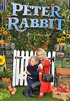Naomi Isted and her son at the &quot;Peter Rabbit&quot; UK gala premiere, Vue West End cinema, Leicester Square, London, England, UK, on Sunday 11 March 2018.<br /> CAP/CAN<br /> &copy;CAN/Capital Pictures