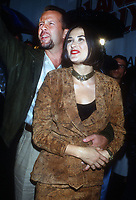 Bruce Willis Demi Moore<br /> 1992<br /> Photo By Michael Ferguson/CelebrityArchaeology.com<br /> <br /> http://CelebrityArchaeology.com