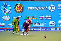 Michael Breen (Pirates). Gold Coast Hawks v Brisbane Pirates semifinal. Bowls Premier League at Naenae Bowling Club in Wellington, New Zealand on Thursay, 26 April 2018. Photo: Dave Lintott / lintottphoto.co.nz