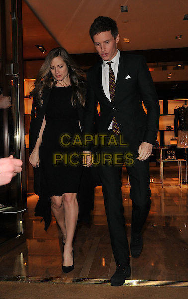 Hannah Bagshawe &amp; Eddie Redmayne attend the Louis Vuitton &amp; Alicia Vikander Pre-BAFTA dinner party, The Apartment @ Louis Vuitton, New Bond Street, London, UK, on Saturday 13 February 2016.<br /> CAP/CAN<br /> &copy;Can Nguyen/Capital Pictures