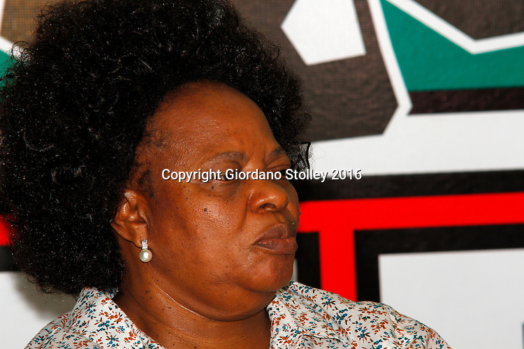 DURBAN - 5 September 2016 - Inkatha Freedom Party (IFP) health spokeswoman Ncamisile Nkwanyana at a press conference, where the IFP accused the ruling African National Cogress of interfering in the process of electing councillors and key office bearers in the KwaZulu-Natal's hung municipalities. Picture: Allied Picture Press/APP