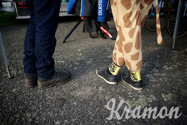 British cx fans do stand out<br /> <br /> Koksijde CX World Cup 2014