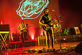 Tame Impala - L-R: Cam Avery and Kevin Parker - performing live at The Hammersmith Apollo, London UK - 25 June 2013.   Photo credit: Justin Ng/Music Pics Ltd/IconicPix